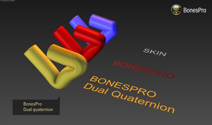 BonesPro dual quaternion