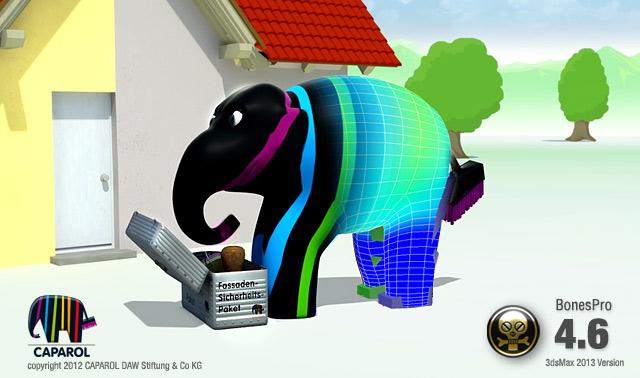 BonesPro 4.6 for 3ds Max 2013 released!