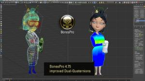 BonesPro 4.75 3D Plugin