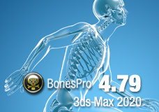 BonesPro 4.79 for 3ds Max 2020