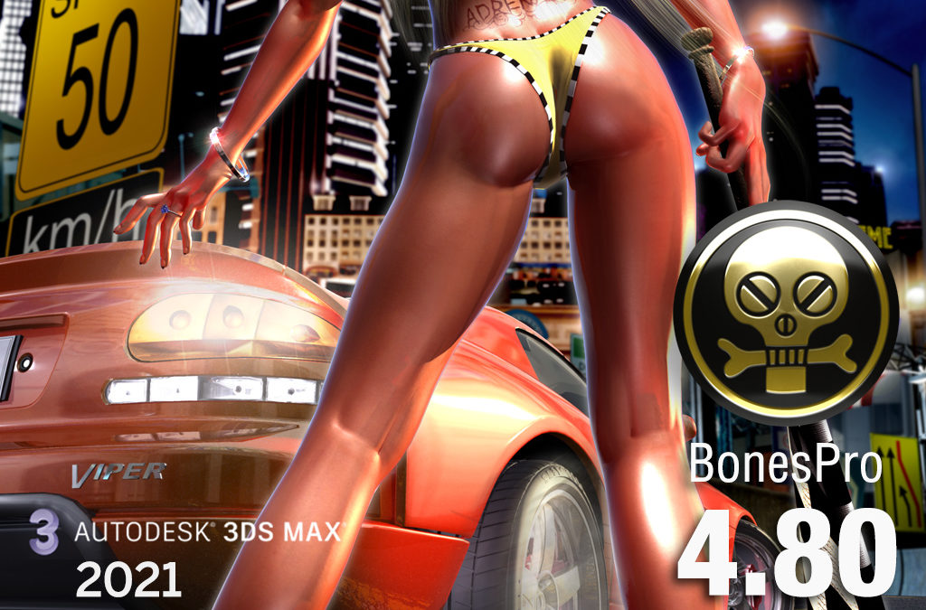 BonesPro 4.80 for 3ds Max 2021