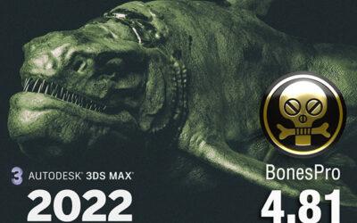 BonesPro 4.81 for 3ds Max 2022