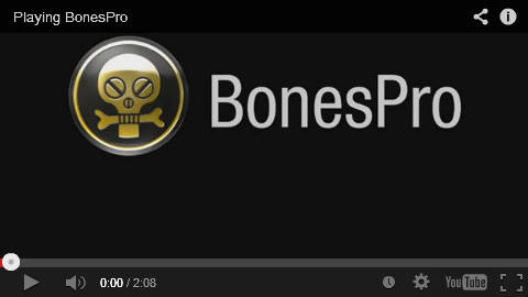 BonesPro explained in 1 minute