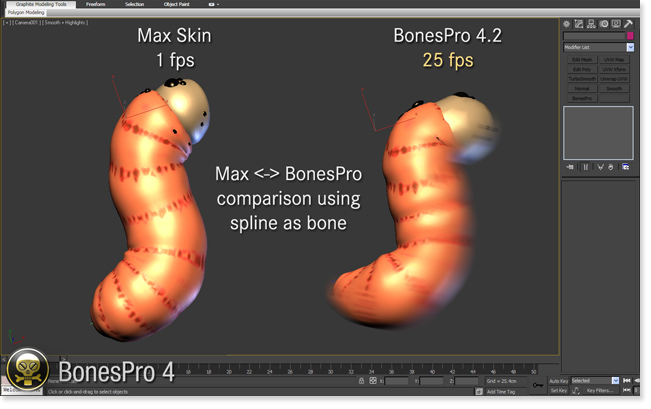 BonesPro 4.2 - Skin comparison